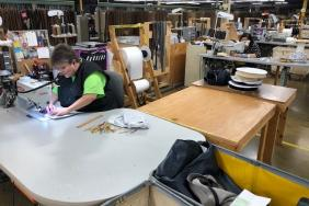 Doing Our Part: Arhaus Upholstery Artisans Are Making PPE Masks Image
