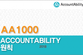 AccountAbility Releases Korean Translation of the AA1000 AccountAbility Principles (AA1000AP, 2018) Image