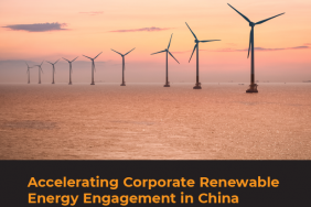 Just Released: Accelerating Corporate Renewable Energy Engagement in China Image