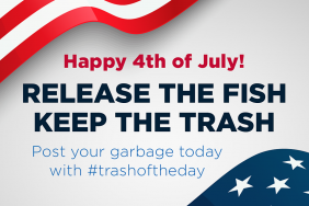 8 Million Anglers Called on to Collect Data and Trash From US Waters This Fourth of July Image