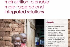Malnutrition Mapping Project Featured by Harvard Kennedy School Image