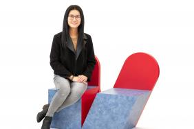 Contemporary Art Inspires Students Competing in  the 16th Annual Wilsonart Challenges Student Chair Design Competition Image