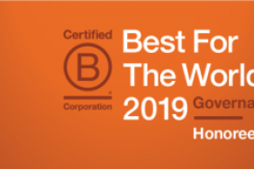 "CSRHub Recognized as a ""Best For The World"" B Corp Governance Honoree Image"