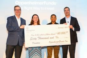OppenheimerFunds Supports Atlanta Community During Distribution Symposium Image