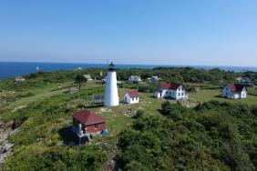 Bakers Island Light Station Celebrates New Solar Array and Battery System Image