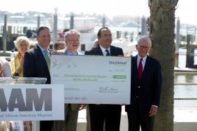 Blackbaud Donates $1 Million to Help Build International African American Museum Image