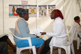 "Diabetes Screening in Kenya """" 'It Takes Only 5 Seconds' Image"