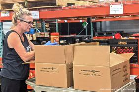 International Paper Helping to Deliver Nutrition in Louisiana Image