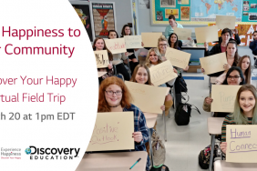 Discovery Education Teams up With LG Electronics USA To Launch 'Discover Your Happy' Program That Combats Youth Stress With Science-Based Happiness Curriculum Image