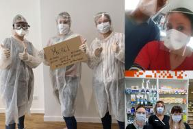 Powering Good. FPT Industrial Produces Face Shields for French Healthcare Professionals Image