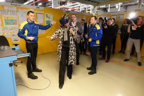 New Holland Agriculture Plant in Zedelgem, Belgium, 'Supporting' Its Workers in More Ways Than One Image