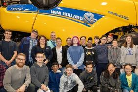 New Holland Shaping the Minds of the Future Image