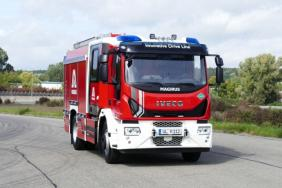 Magirus Presents World's First Gas-Powered Fire Engine Image