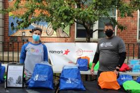Aramark's Global Day of Service Focuses on Students and Families, Adapts to Pandemic Image