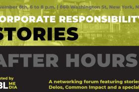 3BL Media to Host Corporate Responsibility Stories, Nov. 8, Near New York's High Line  Image