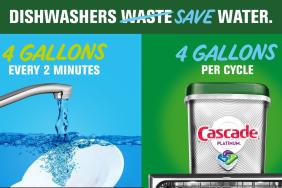 Cascade Comes Clean About Dishwashing Habit Image