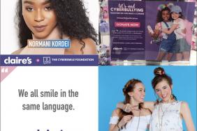 Claire's Raise Over $57000 for Cybersmile During Bullying Prevention Month Campaign Image