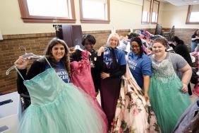 Comerica Bank Makes Dreams Come True During Inaugural Prom Dress Drive in Kalamazoo Image