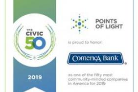 Comerica Receives Civic 50 Honor For Commitment To Improving Local Communities Image