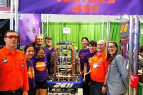Consumers Energy Helps Launch the Next Generation of Michigan Talent Through FIRST Robotics Championship in Detroit Image