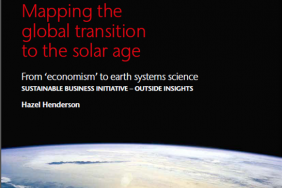 """Global Futurist Hazel Henderson Launches """"Mapping the Global Transition to the Solar Age"""" Image"""