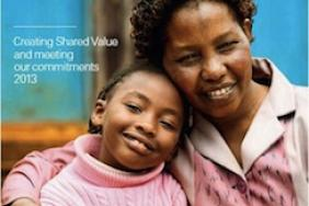 """Full 2013 """"Nestlé in Society: Creating Shared Value and Meeting Our Commitments"""" Report Published Image"""