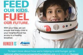 Feed Our Kids. Fuel Our Future. Albertsons Companies and Albertsons Companies Foundation Begin Sixth-Annual Hunger Is Campaign to Raise Money for Breakfast Programs for Kids. Image