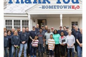 Chris Long's Hometown H2O and Xylem Restore Water to Family in Need Image