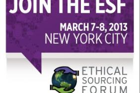 7 Days to Go: Ethical Sourcing Forum 2013 Image