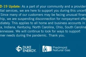 Duke Energy Implements Additional Steps to Protect Customers and Employees During Virus Pandemic Image