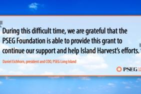PSEG Long Island and PSEG Foundation Support Island Harvest Food Bank Efforts to Reduce Food Insecurity During COVID-19 Outbreak Image
