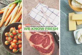 """Sysco Launches """"Sysco Knows Fresh"""" Campaign to Help Foodservice Operators Connect With Its Expansive Assortment of Fresh Products Image"""