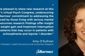 Alkermes Presents New Psychiatry Data at Psych Congress 2020 Virtual Experience Image
