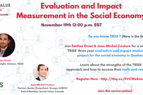 Evaluation and Impact Measurement in the Social Economy Image