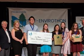 Smithfield Foods Presents $30,000 in Scholarships to Winners of 2019 NCF-Envirothon Competition Image
