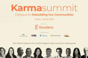 Goodera Presents Karma Summit 2020-Rebuilding Our Communities Image