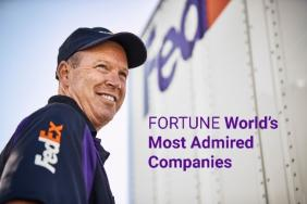 FedEx Earns No. 14 Spot on the FORTUNE World's Most Admired Companies List Image
