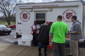 FedEx Helps The Salvation Army Provide Nashville Area Tornado Relief Image