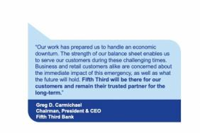 Fifth Third Takes Actions to Care for Customers and Employees Image