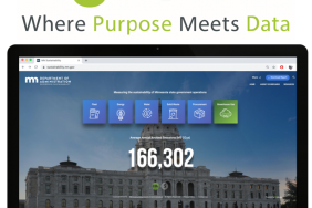 State of Minnesota Launches Live State-Wide Sustainability Website on FigBytes Sustainability Software Platform Image