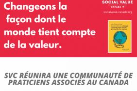 Social Value Canada réunira une communauté de praticiens associés au Canada Image
