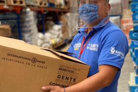 International Paper Donates Boxes to The Global FoodBanking Network to Respond to COVID-19 in Mexico Image