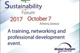 Sustainability Forum 2017 Takes Place on October 5 Image