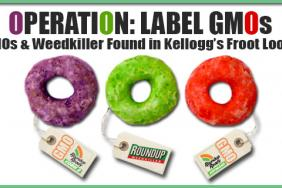 GMO Free USA Finds GMOs and Weedkiller in Kellogg's Froot Loops Image