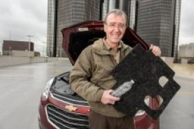 GM Recycles Water Bottles to Make Chevy Equinox Part Image