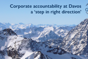 Corporate Accountability at Davos a 'Step in Right Direction' Image