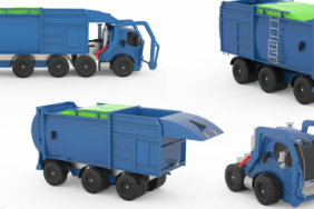 At the Head of the Class — Designing a Waste Collection Truck of the Future Image