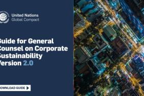 United Nations Global Compact Updates Guidance to Help General Counsel Drive the Corporate Sustainability Agenda Image