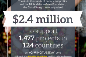 GlobalGiving Breaks Donation Records on #GivingTuesday Image