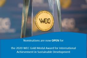 Nominate Your Company for the 2020 WEC Gold Medal Award for Sustainability (Due Oct 16) Image